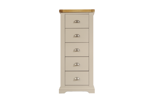 Melbourne Truffle  5 Drawer Tall Chest